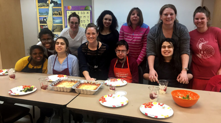 Independent Living Cooking Class