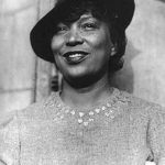 Author and cultural anthropologist Zora Neale Hurston